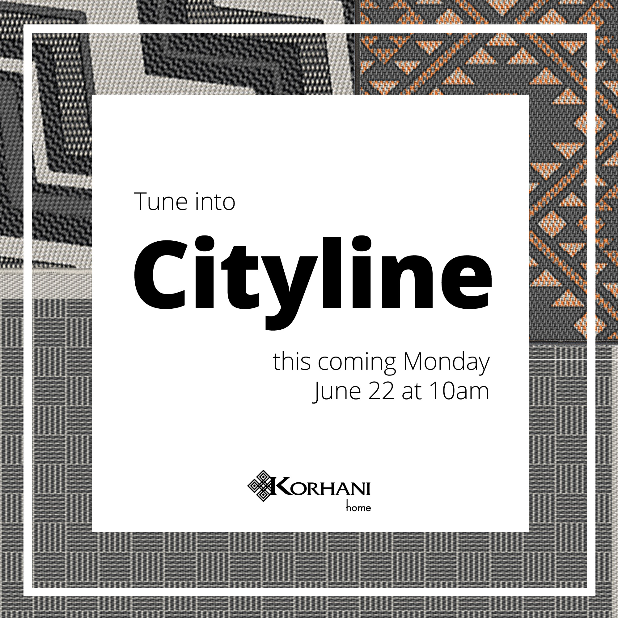 Tune into Cityline this coming Monday
